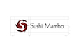 Sushi Mambo – schematics for horizontal logo